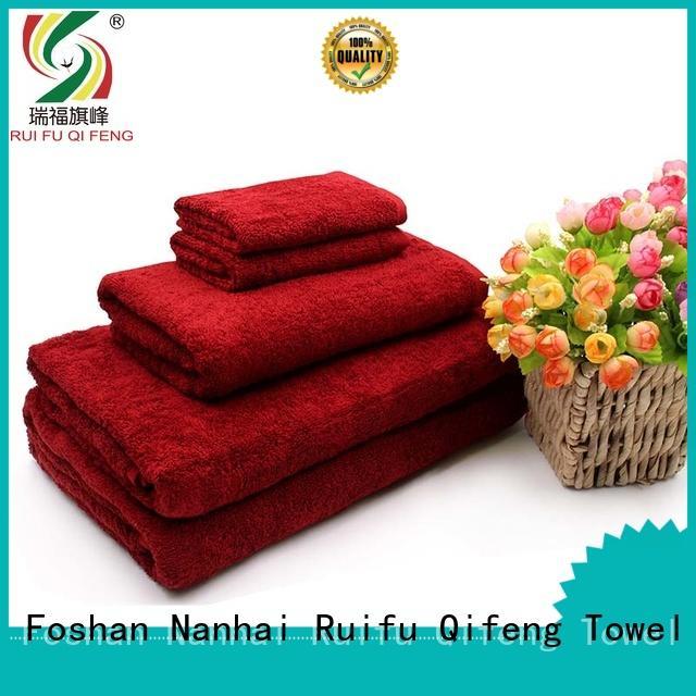 Ruifu Qifeng hand bath towel sets factory price for hospital