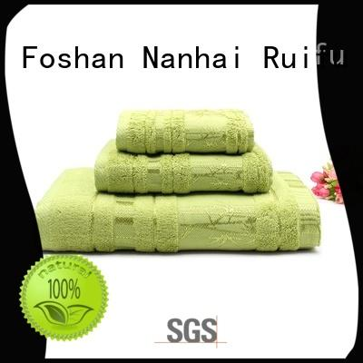 eco-friendly bamboo towel set factory price for restaurant