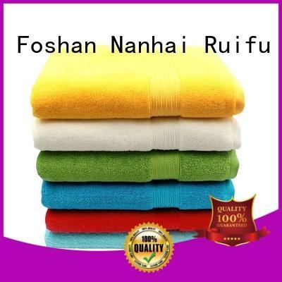 Ruifu Qifeng dobby bath towel series supplier for beach