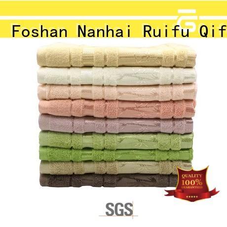 Ruifu Qifeng bamboo bath sheets factory price for club