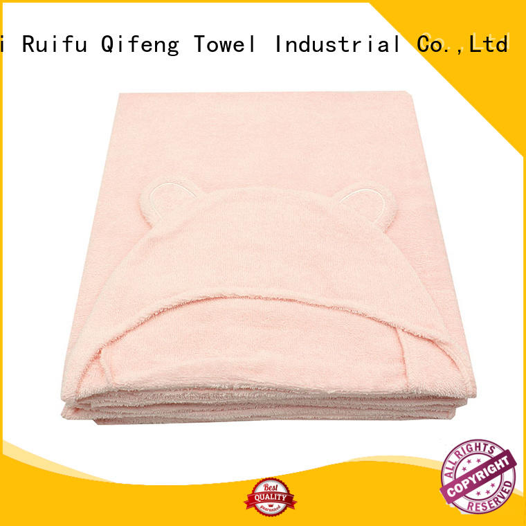 Ruifu Qifeng hooded infant bath towels supplier for hotel