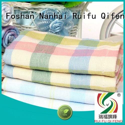 natural soft baby towels velour manufacturer for home