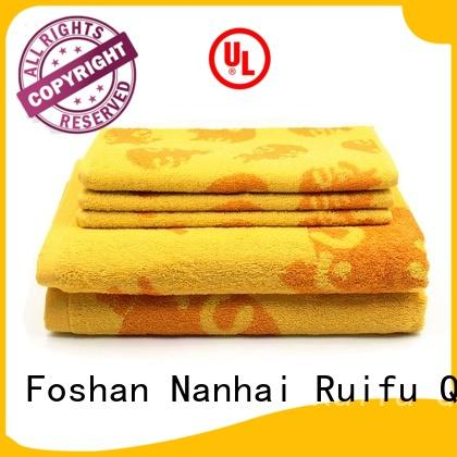 soft bamboo towel set gsm on sale for beach
