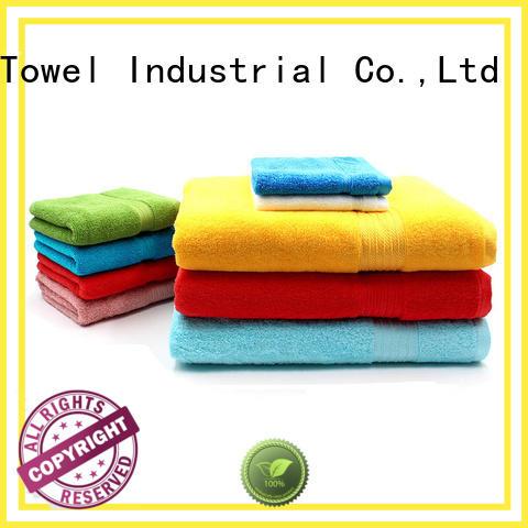 Ruifu Qifeng jacquard cotton towel set online for hotel