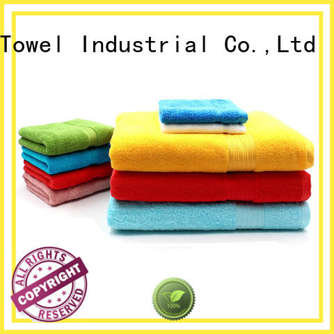 Ruifu Qifeng jacquard cotton towel set online for hotel