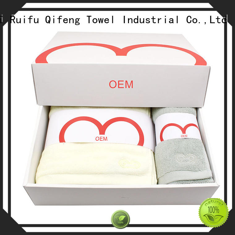 Ruifu Qifeng sports best gym towel supplier for beach