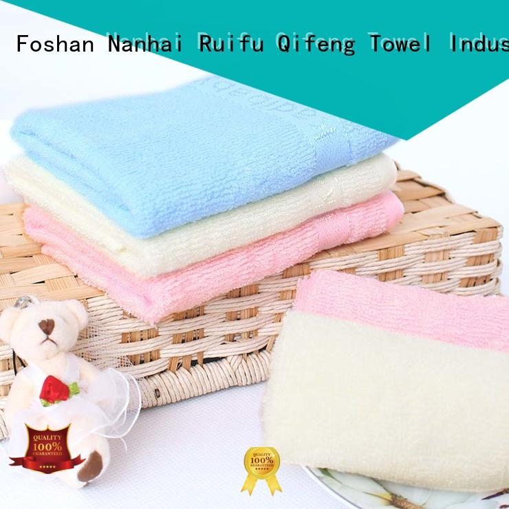 natural newborn bath towel online for hotel Ruifu Qifeng