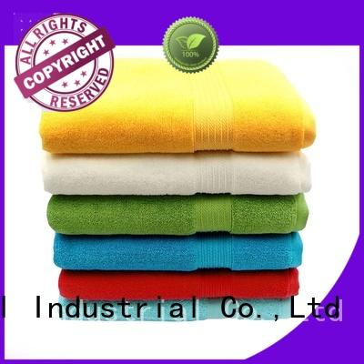 hand best quality bath towels dyed sets for home