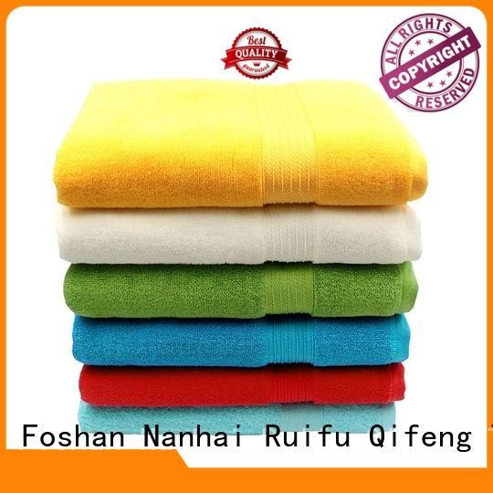 Ruifu Qifeng monogrammed large bath towels supplier for club