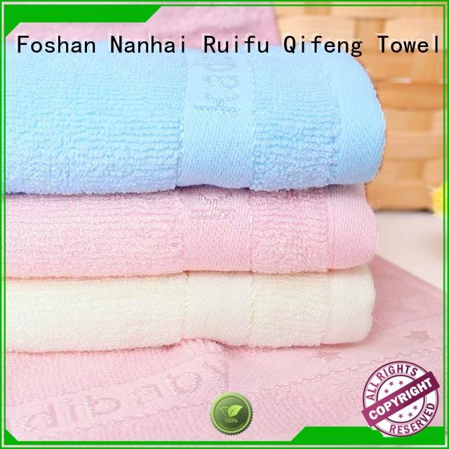 Ruifu Qifeng comfortable newborn baby bath towels manufacturer for hospital