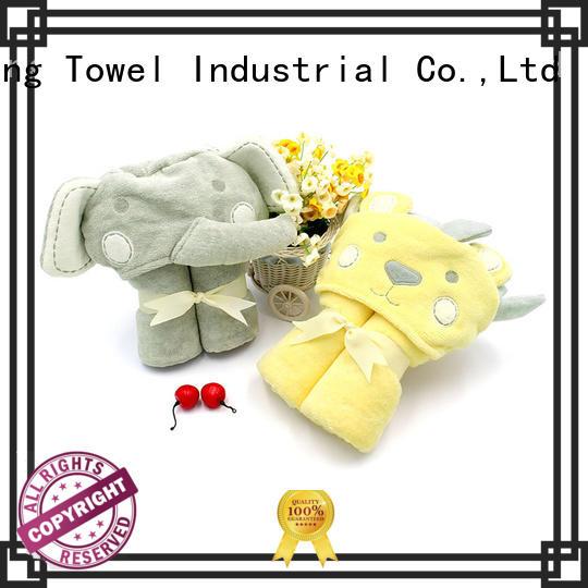 Ruifu Qifeng children baby hooded towel supplier for kindergarden