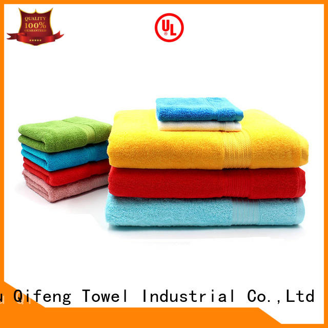 Ruifu Qifeng gsm bathroom towel sets factory price for home