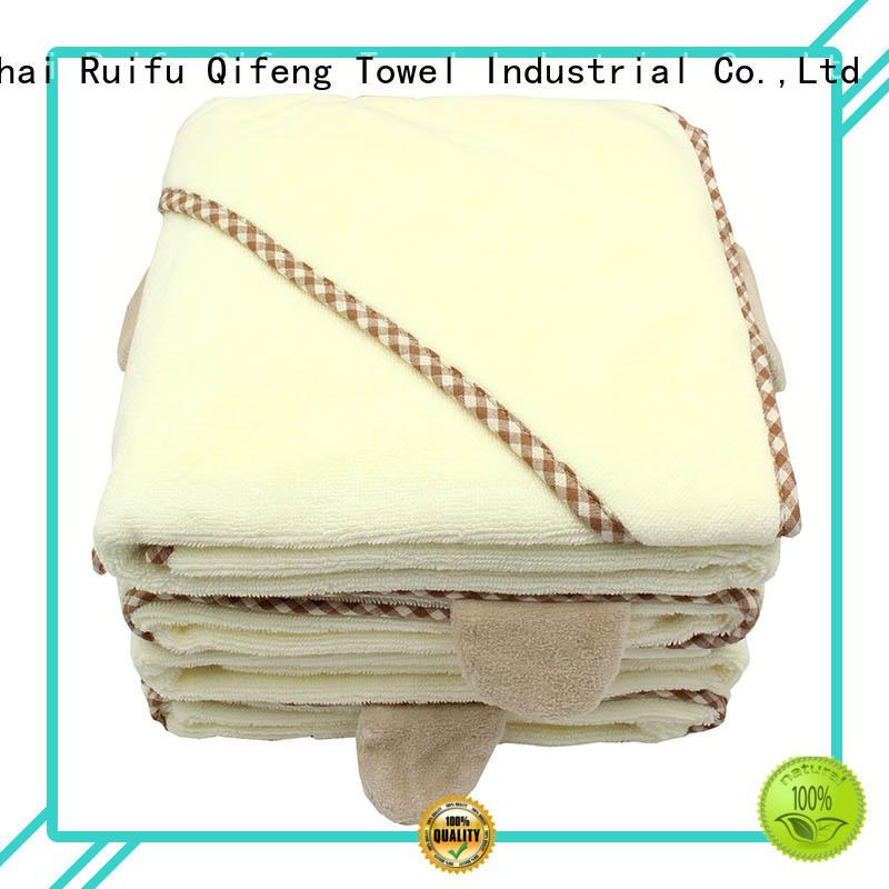 Ruifu Qifeng series soft baby towels design for kindergarden