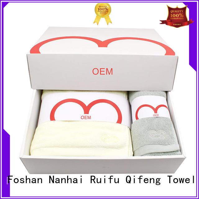Ruifu Qifeng customized zero twist towels factory price for restaurant