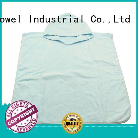 Ruifu Qifeng qf011f347 bamboo baby hooded towel manufacturer for hospital