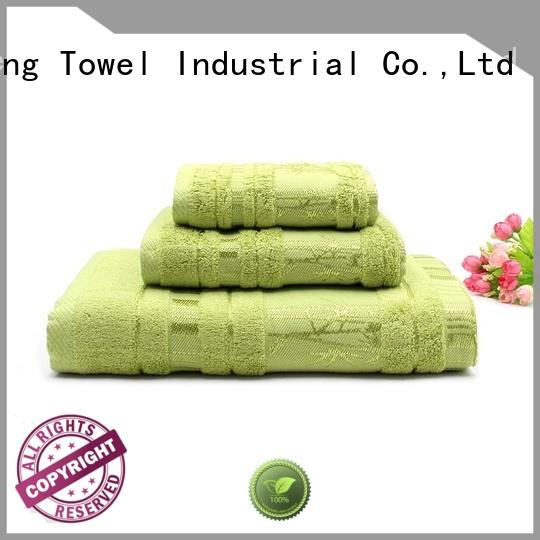 monogrammed cotton towel set bamboo on sale for restaurant