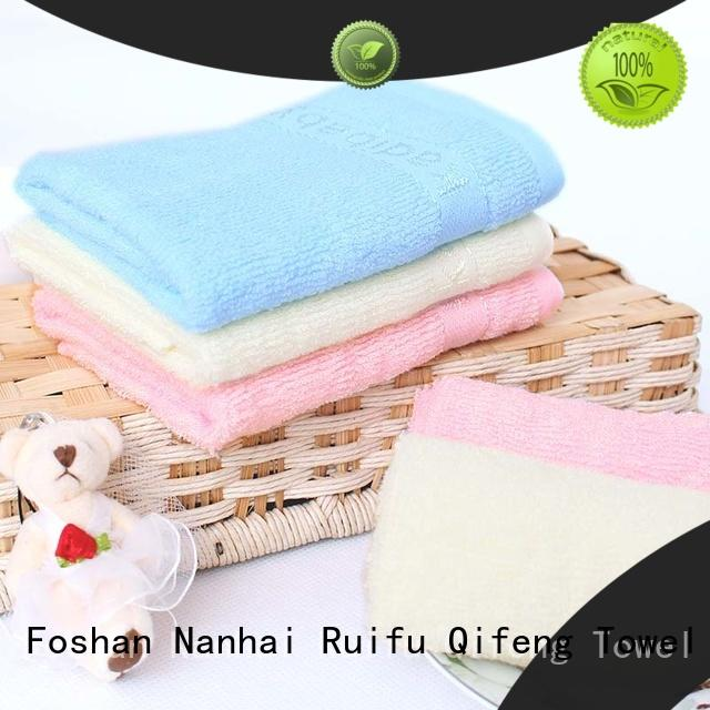 Ruifu Qifeng towels baby towel series supplier for home