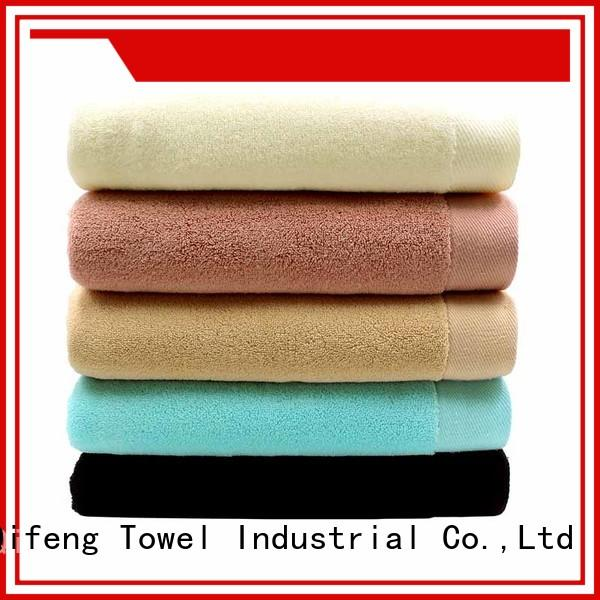 Ruifu Qifeng hair terry towel manufacturers sets for hotel