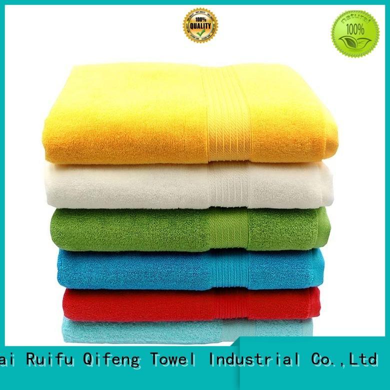 Ruifu Qifeng comfortable bath towel series factory price for hotel