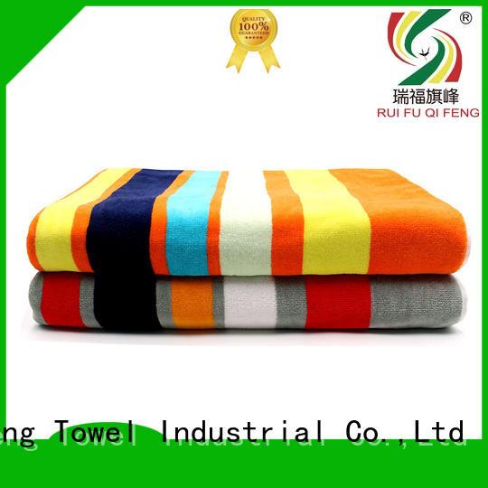Ruifu Qifeng qf006d1057 large bath towels factory price for club