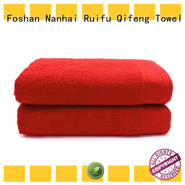 Ruifu Qifeng multi function large beach towels directly price for home