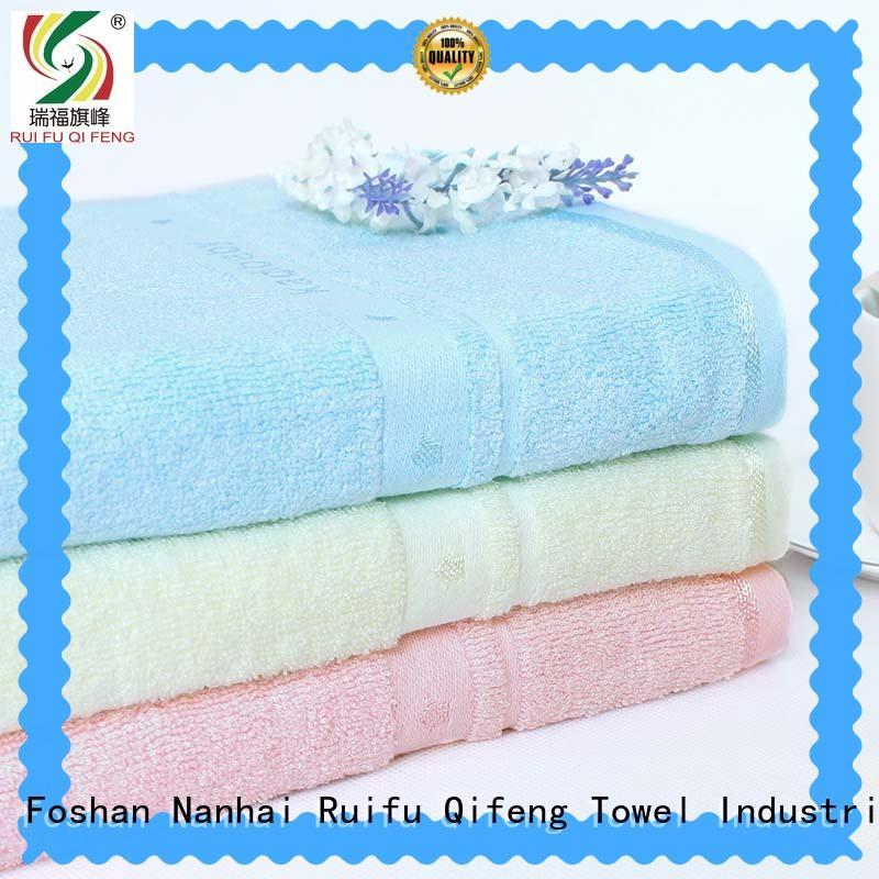 Ruifu Qifeng bamboo toddler bath towels supplier for home