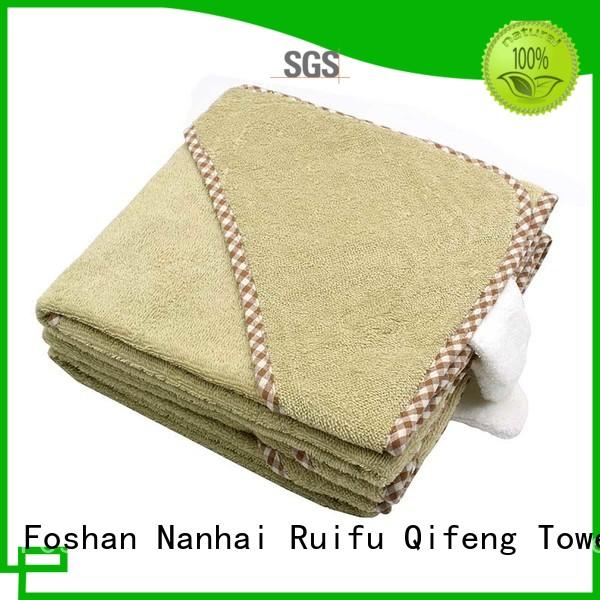 Ruifu Qifeng qf014f01 infant hooded towel supplier for kindergarden