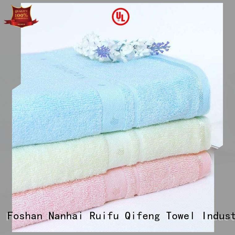 Ruifu Qifeng children cute baby towels manufacturer for kindergarden