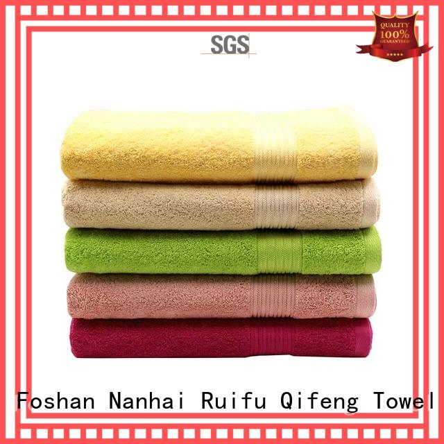 good quality large beach towels plain supplier for pool
