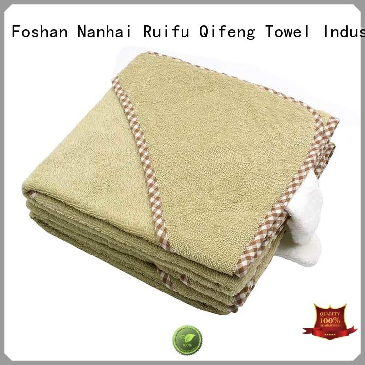 Hooded Towel - QF-011(F347 Terry)