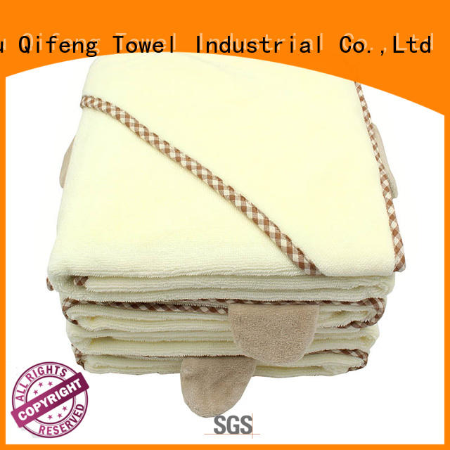 Ruifu Qifeng hooded newborn baby towel manufacturer for hospital