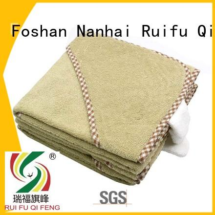 baby towels and washcloths hooded for hotel Ruifu Qifeng