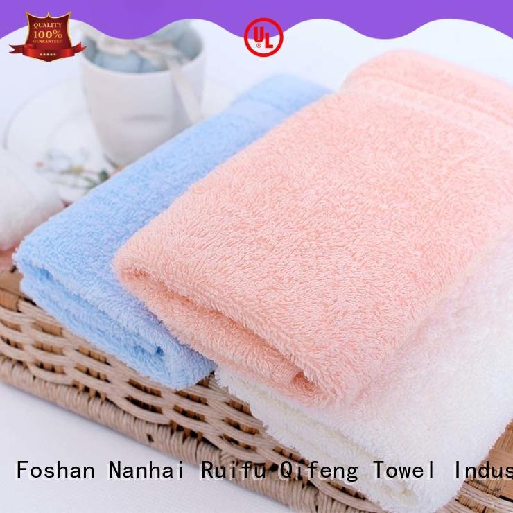 soft toddler bath towels qf010f457 design for kindergarden