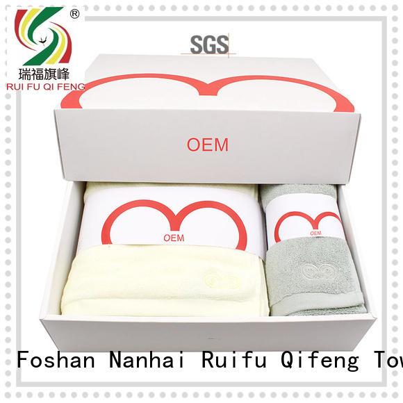 high quality towel gift set supplier for restaurant