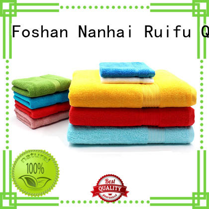 good quality organic bamboo towel set on sale for beach