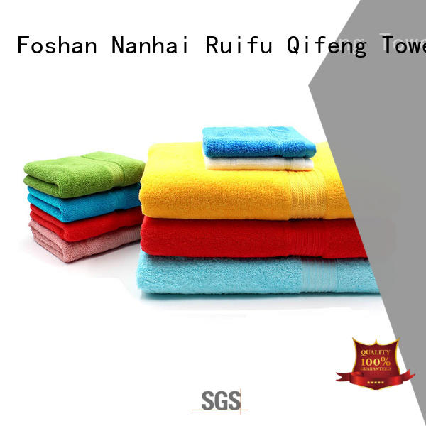 Ruifu Qifeng eco-friendly cotton towel set online for restaurant