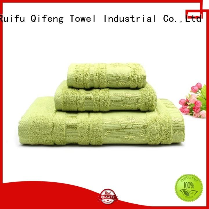 good quality cotton towel set cotton factory price for beach