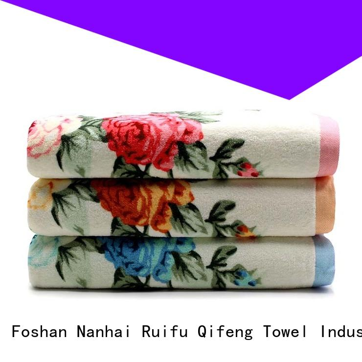 soft bathroom towel sets organic factory price for restaurant