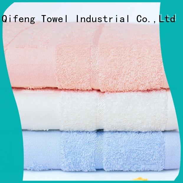 natural organic bamboo baby towels qf019b722 promotion for hospital
