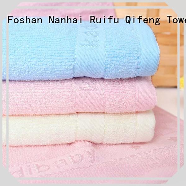 Ruifu Qifeng qf020d894 infant hooded towel promotion for hotel