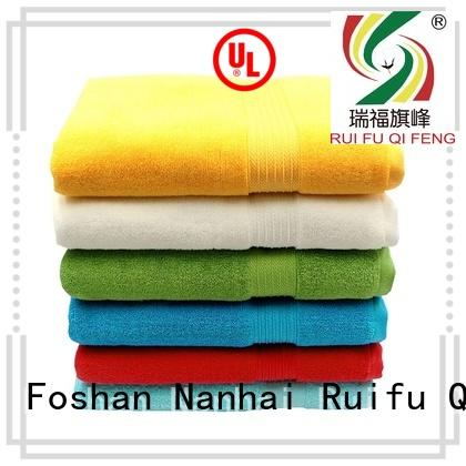 Ruifu Qifeng soft shower towel supplier for beach