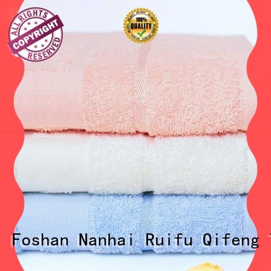 Ruifu Qifeng terry soft baby towels online for hotel