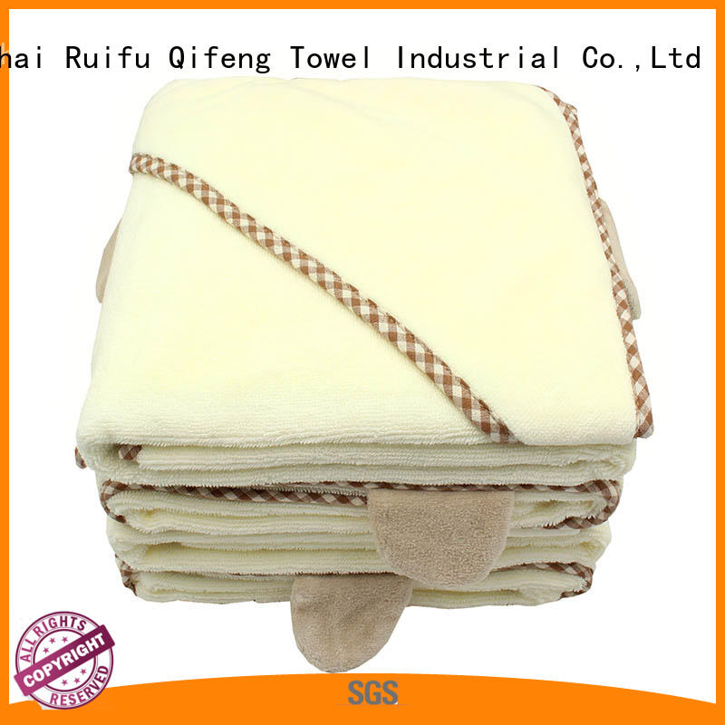 Ruifu Qifeng infant newborn baby towels online promotion for hospital