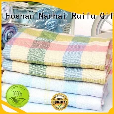 Ruifu Qifeng qf010f457 infant bath towels supplier for hospital