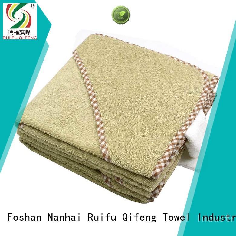 Ruifu Qifeng children infant hooded towel online for kindergarden