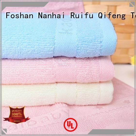 Ruifu Qifeng children infant hooded towel manufacturer for hospital