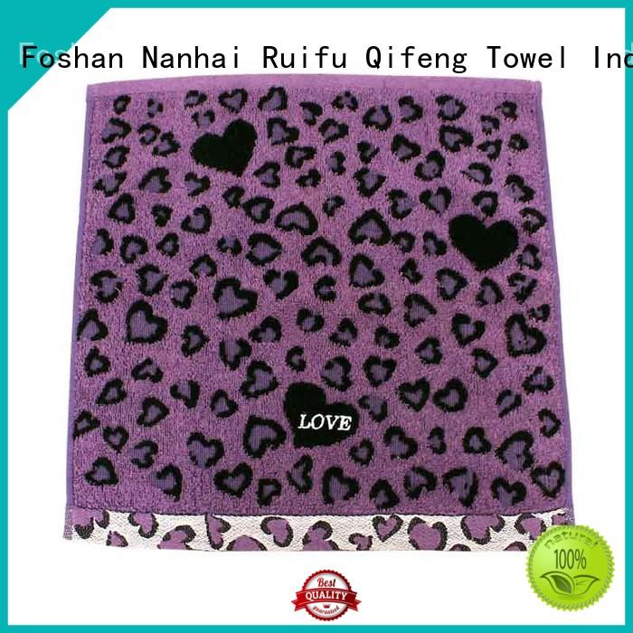 Ruifu Qifeng highabsorbent terry towel manufacturers online for home