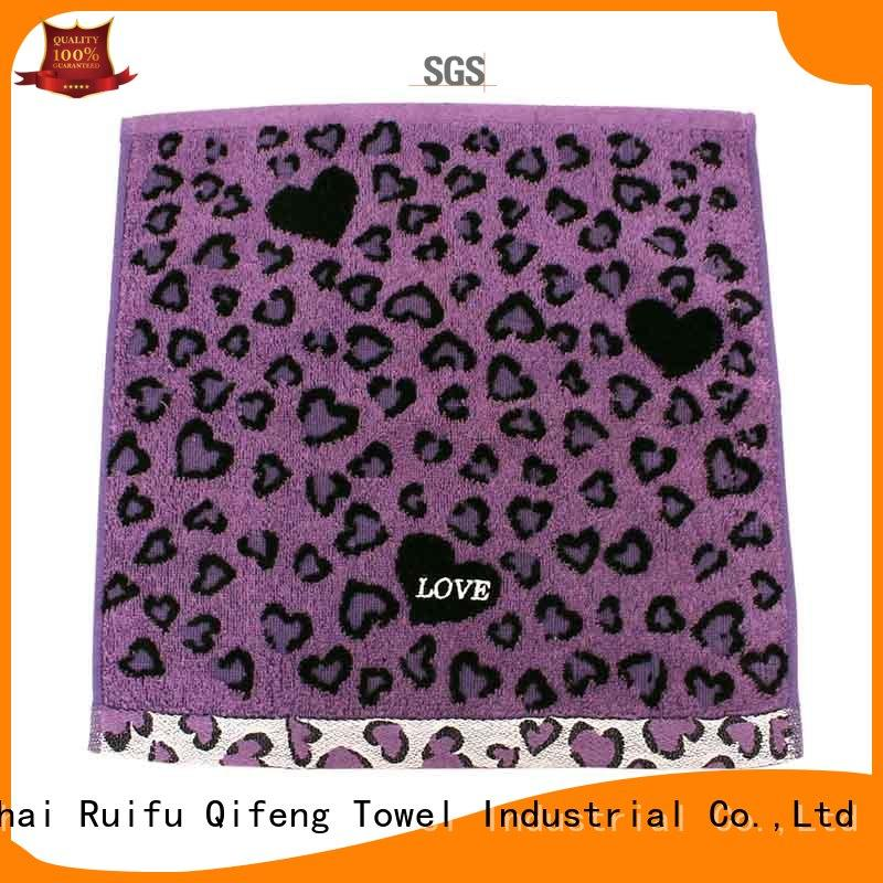 Ruifu Qifeng absorbent customized sports towel factory price for beach