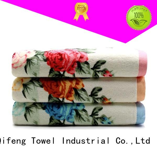Ruifu Qifeng monogrammed customized towel set supplier for home