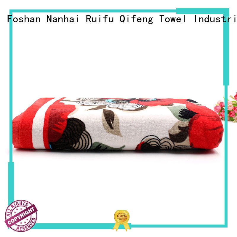 Ruifu Qifeng big beach towels supplier for home